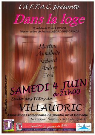 """Saison 2010/2011 : """"Dans La Loge"""""""